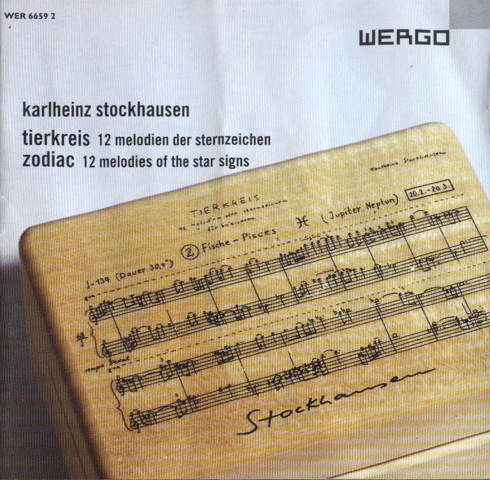 karlheinz stockhausen - tierkreis - zodiac